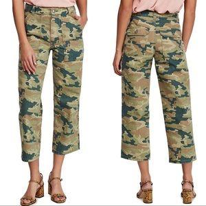 NWT Free People High-Rise Denim Straight Leg Pants